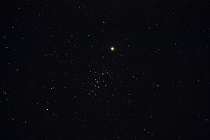 Mars bei M 44 &nbsp;&copy; Stefan Simon.
