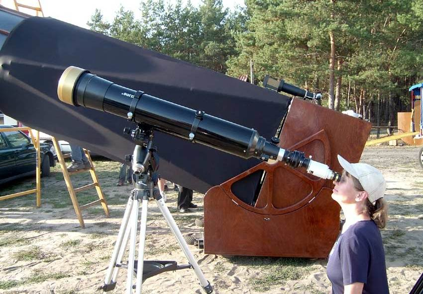 Sonnenbeobachtung mit dem 140mm Coronado-Teleskop