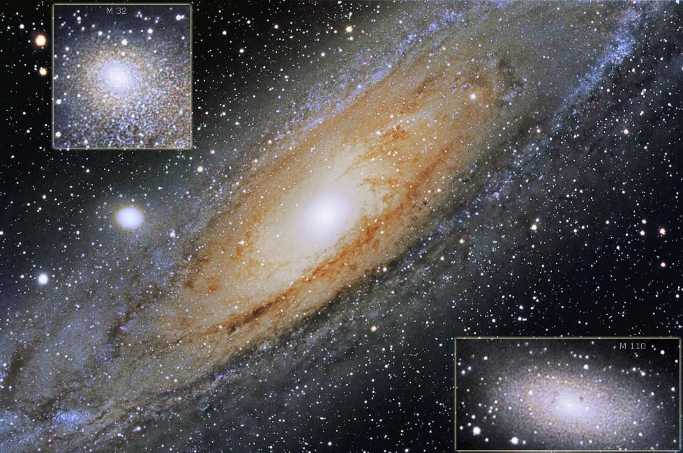 Mit Klick ins Bild gelangt man zur Galaxien-Astrofotogalerie