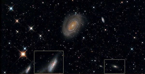NGC 4725, &copy; Michael Mckel.