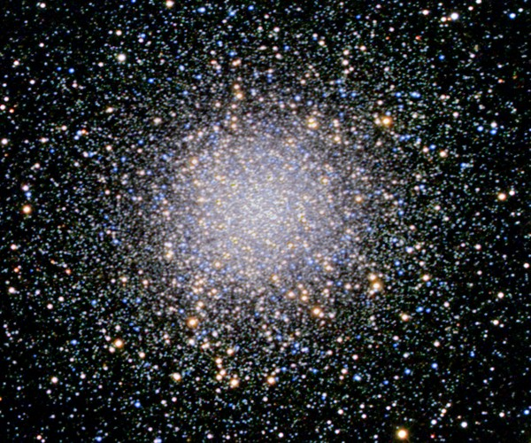 Messier 13, &copy; Michael Mckel.