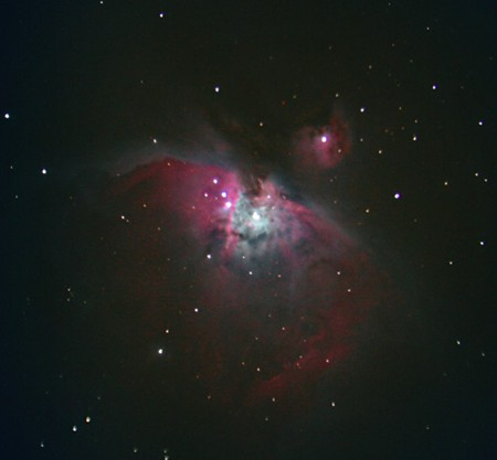 M 42 und M 43 &copy; Stefan Simon
